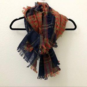 NEW Madewell plaid scarf